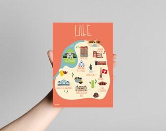 Postcard Lille