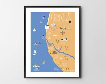 Carolles poster