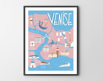 Poster Venice - Italy
