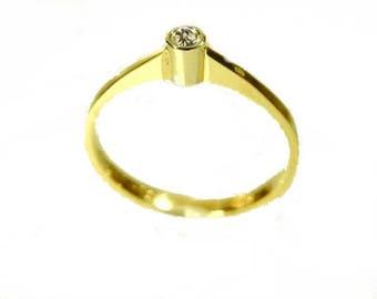 Engagement Rings Gold brilliant 0.05 gold Hochtzeitschmuck wedding ring Wedding