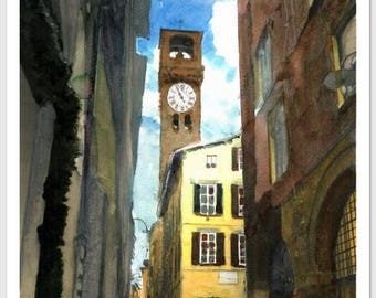 Lucca Clock Tower