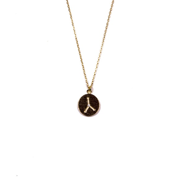 Cancer Constellation Necklace Cancer Zodiac Sign Necklace Etsy