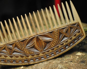 Beard comb custom comb personalized comb wooden comb mens comb custom wooden comb wooden beard comb with leathre case Christmas groom gift