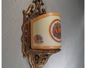 A7732 Vintage Litolier Pair of Art Deco Wall Sconces
