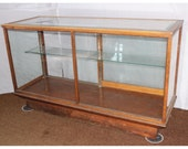 F3390 Oak Store Counter Display Case