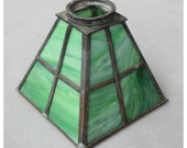 S1069 Leaded Slag Glass Shade