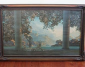 M6971 Maxfield Parrish 'Daybreak' lithograph art print size large