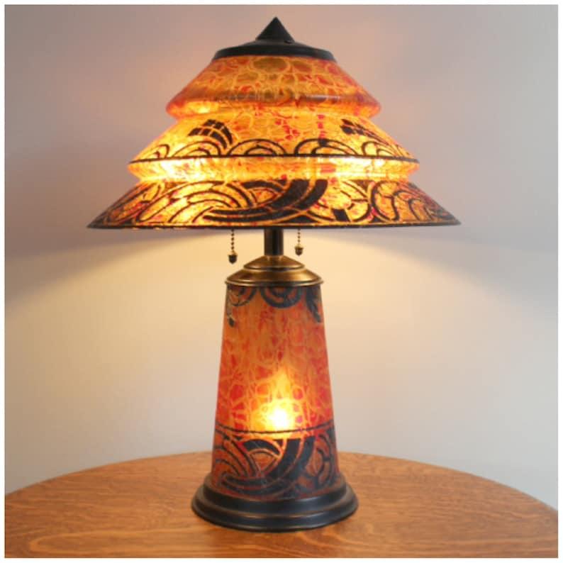 A8141 Art Deco Table Lamp image 0