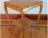 F3871 Antique early 1900's American Quartersawn Oak Side, Lamp, Occasional, End Table
