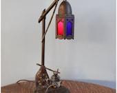 A6240 Antique Bedouin Arab Merchant Novelty Lamp