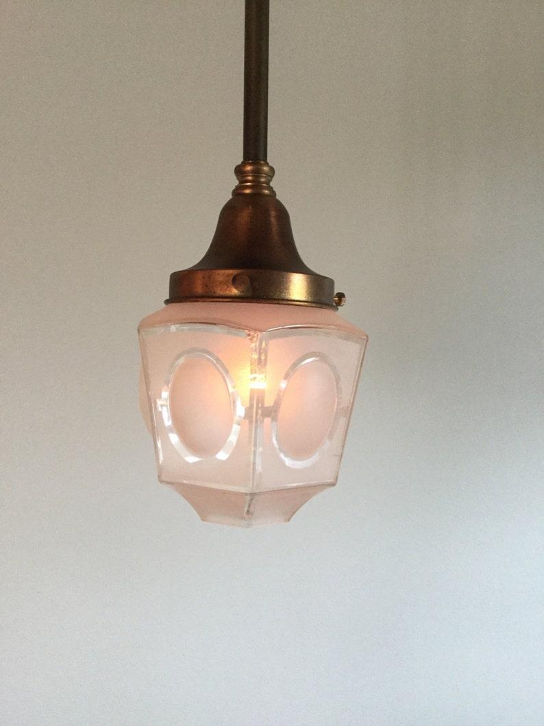 A8455 Antique Brass Pendant Ceiling Lights image 0