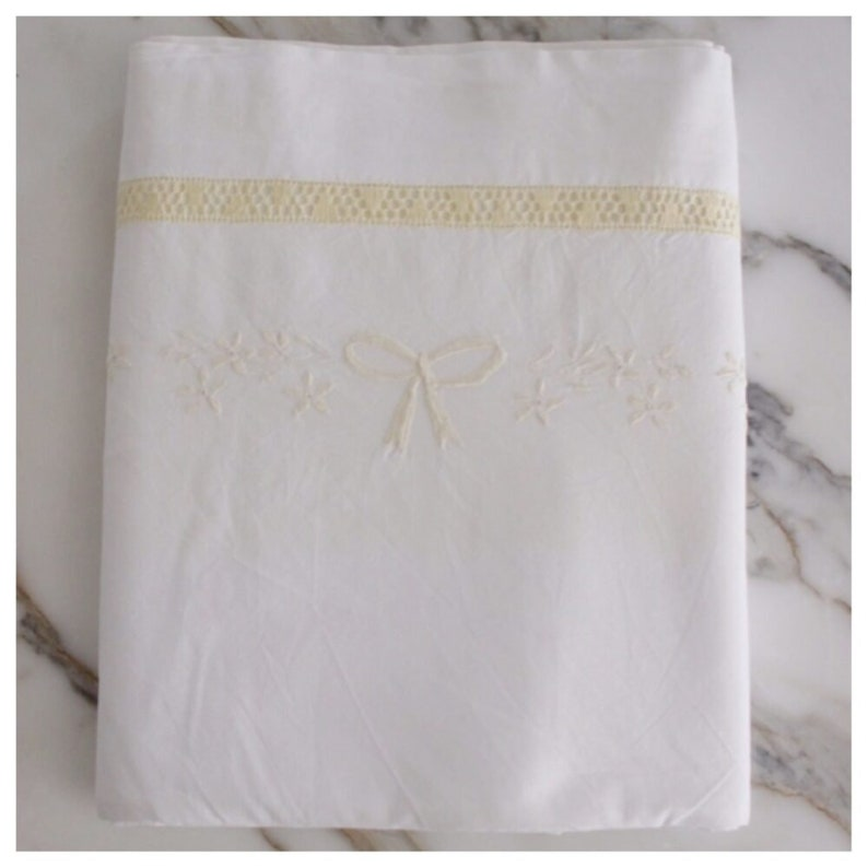 M5780 Embroidered European Queen size Sheets Set image 0