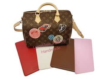 1acd6df075fda Leather Base shaper Handmade for Speedy 30 Bag Einlegeboden Für Tasche LV  SPEEDY 25