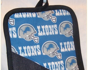 Potholders  # 2741-NFL name Chicago Bears Jean and cotton