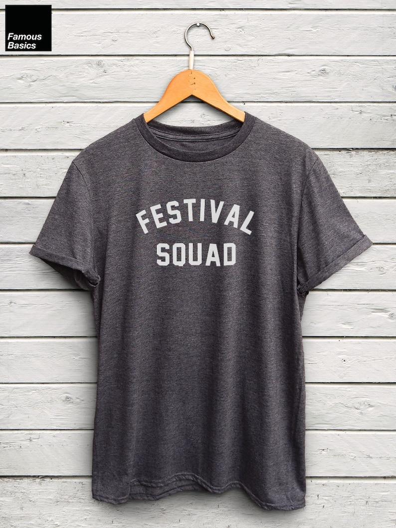 11e03192 Festival Squad tshirt festival tshirts festival shirts   Etsy