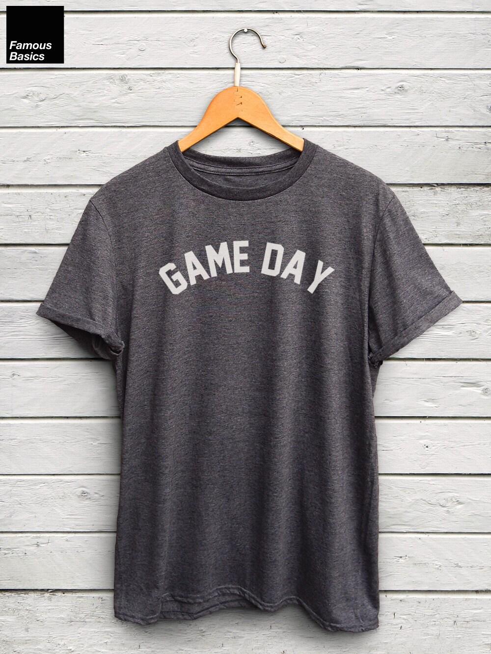 Game Day Shirt - Baseball Tshirt Football Tshirt Soccer Mom Tshirt Football Mom Tshirts Baseball Mom Shirts Game Day Tshirt Unisex Tshirt