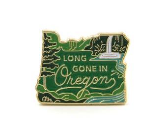 Oregon Enamel Pin