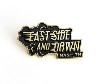 East Nashville Enamel Pin