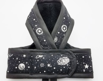 GLOW GALAXY PREMIUM Cat Harness / Glow in the Dark / Walking Butterfly Vest / Ultra Light Design/ Sphynx Cat Clothes & all breeds
