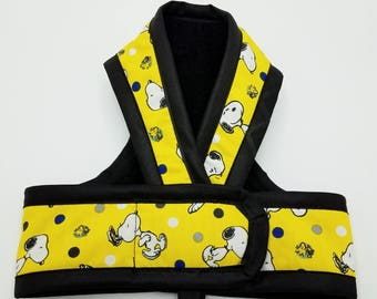 SNOOPY PREMIUM Cat HARNESS by ComfyStyles Your Choice Border / Walking Butterfly Vest / Ultra Light / Sphynx clothes & all breeds