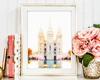 Lds temple | Etsy