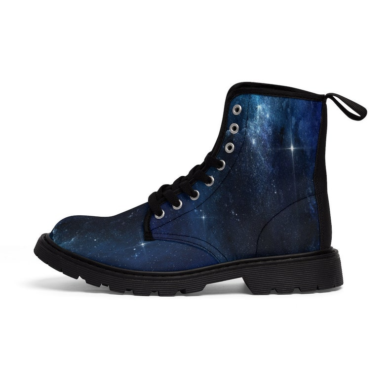d00b24fb8d1f5 Mens festival boots Blue galactic Martin Boots hiking boots work boots  burning man shoes goa psytrance shoes for men outer combat boots