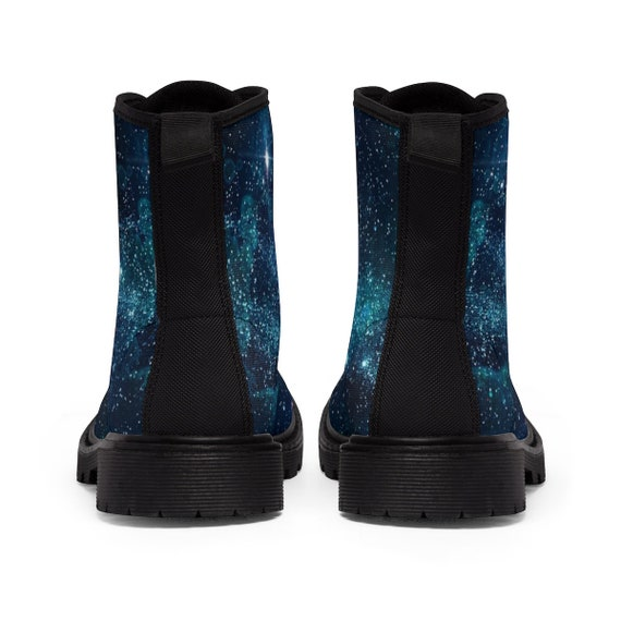 boots blue womens festival up shoes women festival for burning galaxy boots shoes boots martin lace man psytrance clothing ankle xFz8xqB