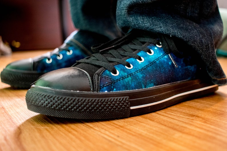 556035ad5f884 outer Space MenS Sneakers festival shoes mens shoes low tops galaxy mens  street sneaker mens festival clothing mandala gems burning man goa