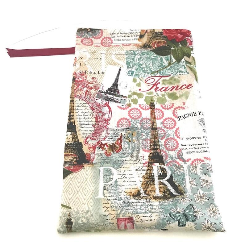 Eiffel Tower Shoe Bag Lingerie Bag French Touch Paris Paris Shoe Bag Shoe Tote Travel Gifts Women Travel Organizer Travel Shoe Bag