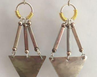 Feminine Triple Goddess earrings