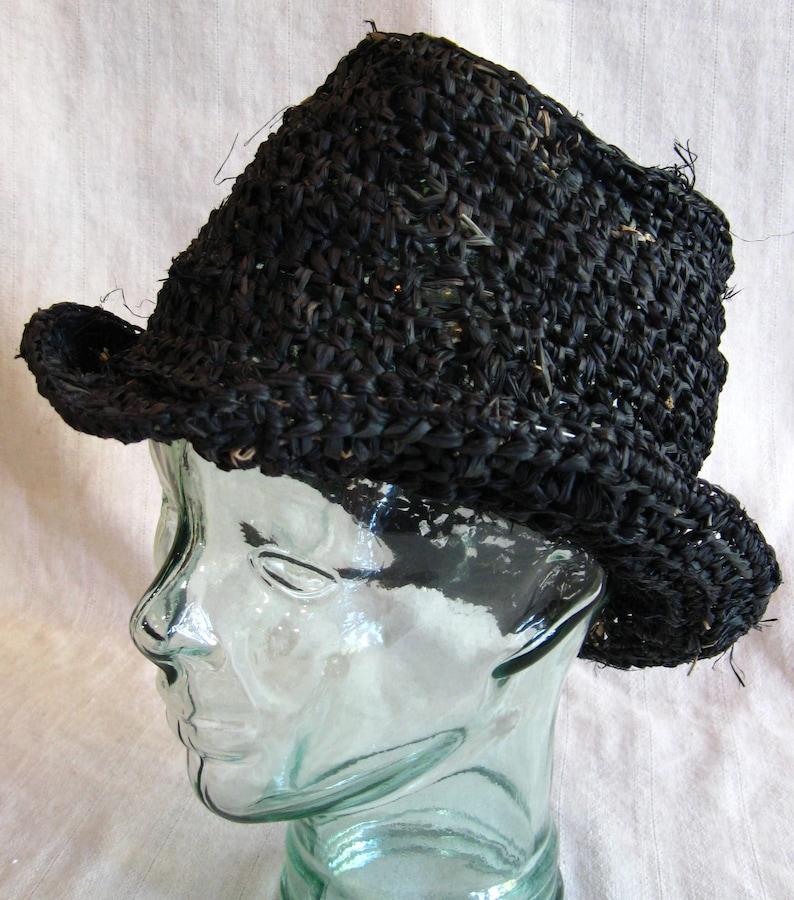 Bill Sikes Style Raffia Hat image 0