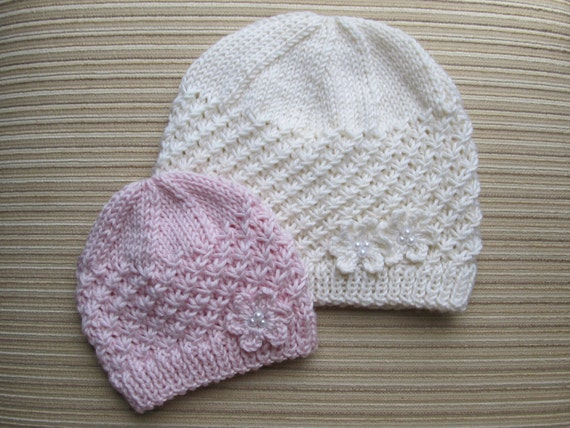 Instant Download Knitting Pattern Stars Stitch Hat in Sizes  d67b627a7c0