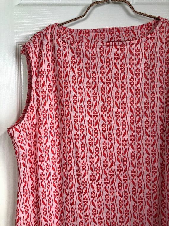 Vintage flora plus size dress