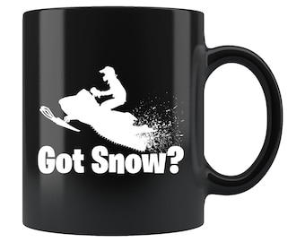 Snowmobile Mug Etsy