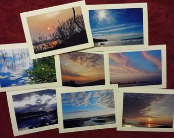 Skies -- photo cards