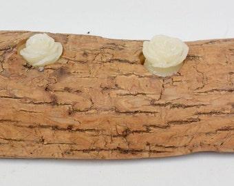 Handcrafted Log Tea Light Candle Holder
