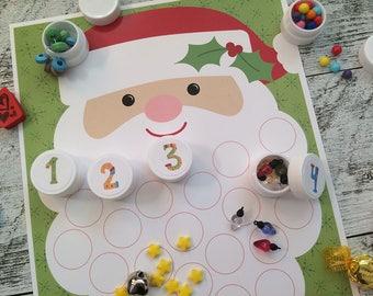 Advent Calendar Kit Christmas Countdown DIY Holiday Fun ~ Essential Oil Box