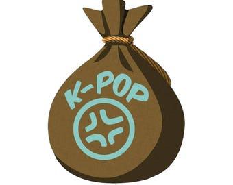K-Pop Grab Bag, K Pop Lucky Pack, Mystery Grab Bag, K Pop Gift Box, K Pop Swag, K Pop Swag bag, Lucky Pack, K pop Theme, Kpop Lucky Pack 30