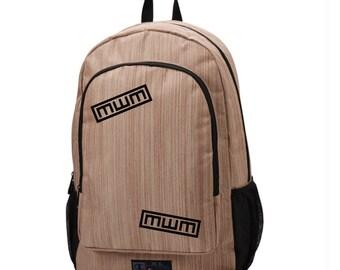 Gaara Gourd Backpack, Khaki Champs Backpack, School Bag, Laptop Sleeve Backpack, Otaku School Bag, College Backpack, Anime manga bag, geek