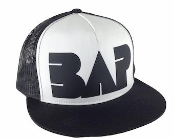BAP Style, Classic Trucker Hat, Kpop Swag, Korean Music, Adjustable Cap, Flat Bill Hat, Yongguk, Himchan, Daehyun, Youngjae, Jongup, Zelo
