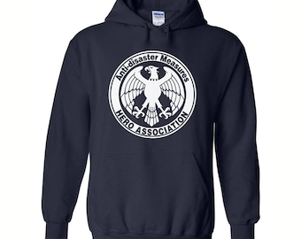 Anime Style, Anti-disaster Measure, Hero Association, Geek Hoodie, Anime Hoodie, Casual Cosplay Anime, Otaku Anime Gift, Geekery Gift, Anime