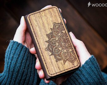 iphone 6 wallet case leather iphone 7 case wooden wallet leather iphone 6 case iphone 7 wallet case wood iphone 6 case wood wallet Mandala