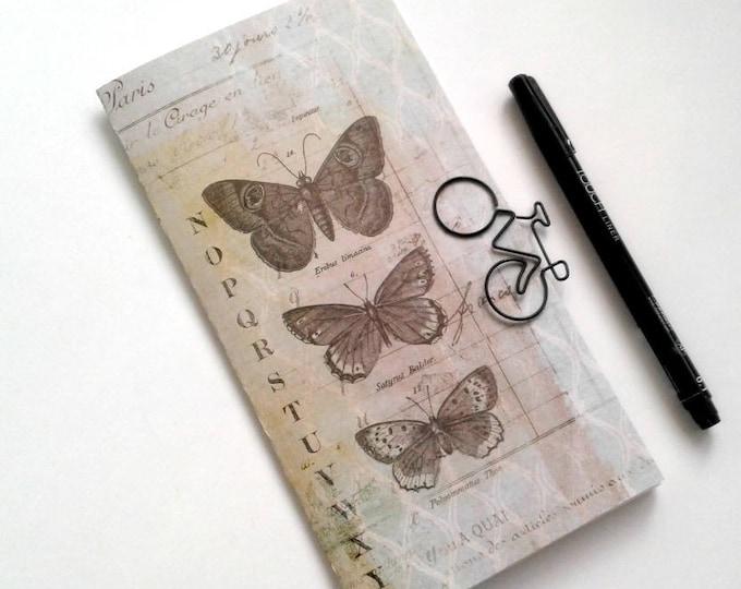 Travelers Notebook Insert BUTTERFLY Travelers Notebook Insert Regular Standard A5 Wide B6 Personal A6 Field Notes Passport Micro - N358