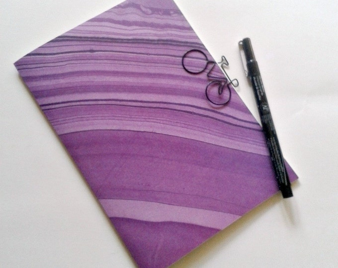 PURPLE MARBLE Traveler's Notebook Insert, Fauxdori Insert, Midori Insert, Personal Log, Dream Diary, Adventure Travel Log, Financial - N160