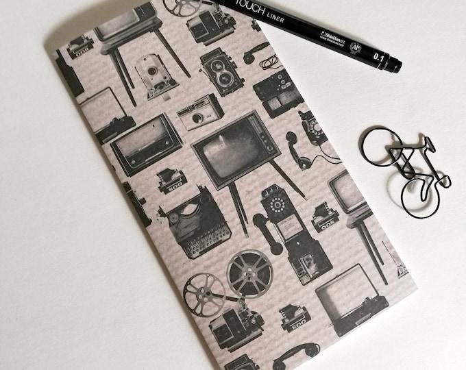 RETRO MEDIA Travelers Notebook Insert - Fauxdori Midori Insert - TN Refill Accessory - Neutral Vintage - 10 Sizes - N534