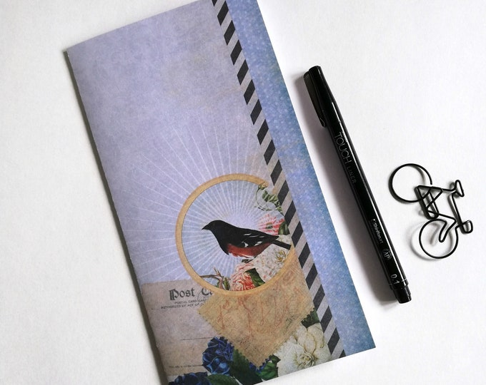 BIRD Travelers Notebook Insert - Fauxdori Midori Insert - TN Refill Accessories - Nature, Spring - 10 Sizes - N568