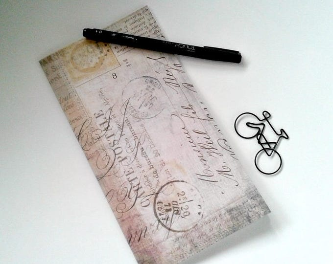 Midori Insert VINTAGE POSTAL Travelers Notebook Insert Regular Standard A5 Wide B6 Personal A6 Pocket Field Notes Passport Micro - N360