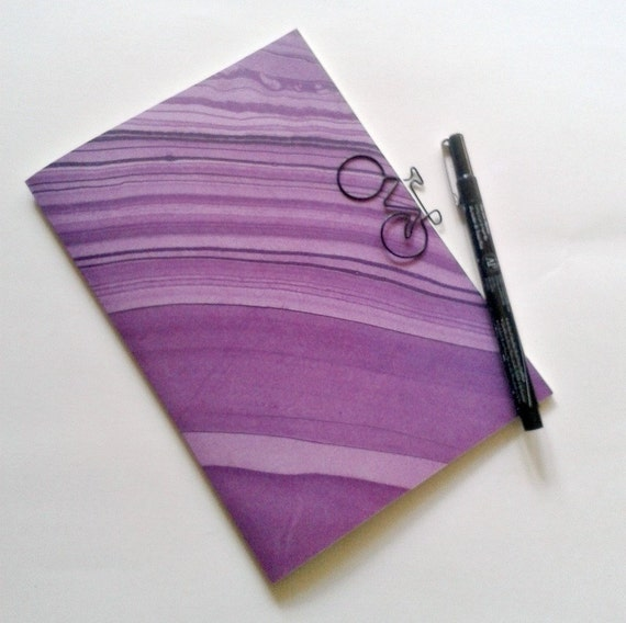 PURPLE MARBLE Travelers Notebook Insert, Fauxdori Midori Insert, Personal Log, B6 A6, B6 Slim, Pocket, Passport, Standard, Cahier, A5 - N160