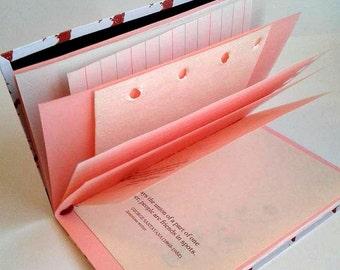 MIX Up My Midori Insert - Traveler's Notebook Insert with Premium Mixed Paper - Junk Smash Insert - Midori Insert - Art Journal - JJ000