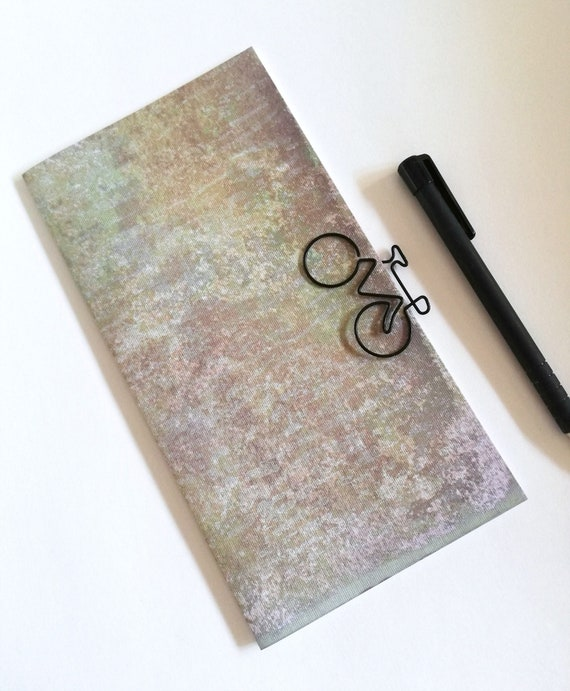 Midori Insert DISTRESSED Travelers Notebook Insert Regular Standard A5 Wide B6 Personal A6 Pocket Field Notes Passport Vintage Style - N360